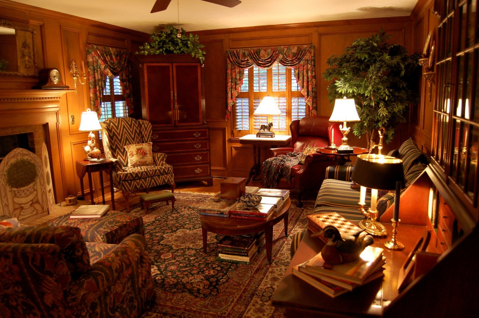 Country themed Living Room Decor Living Room Decorated In English Country Style Hunt theme