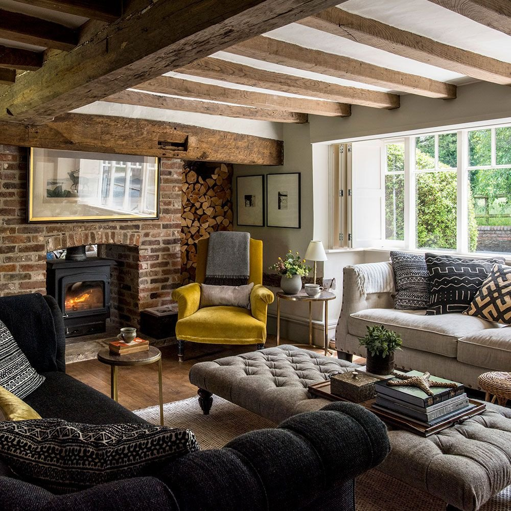 Country themed Living Room Decor Take A Look Around This Stunning 400 Year Old Home In