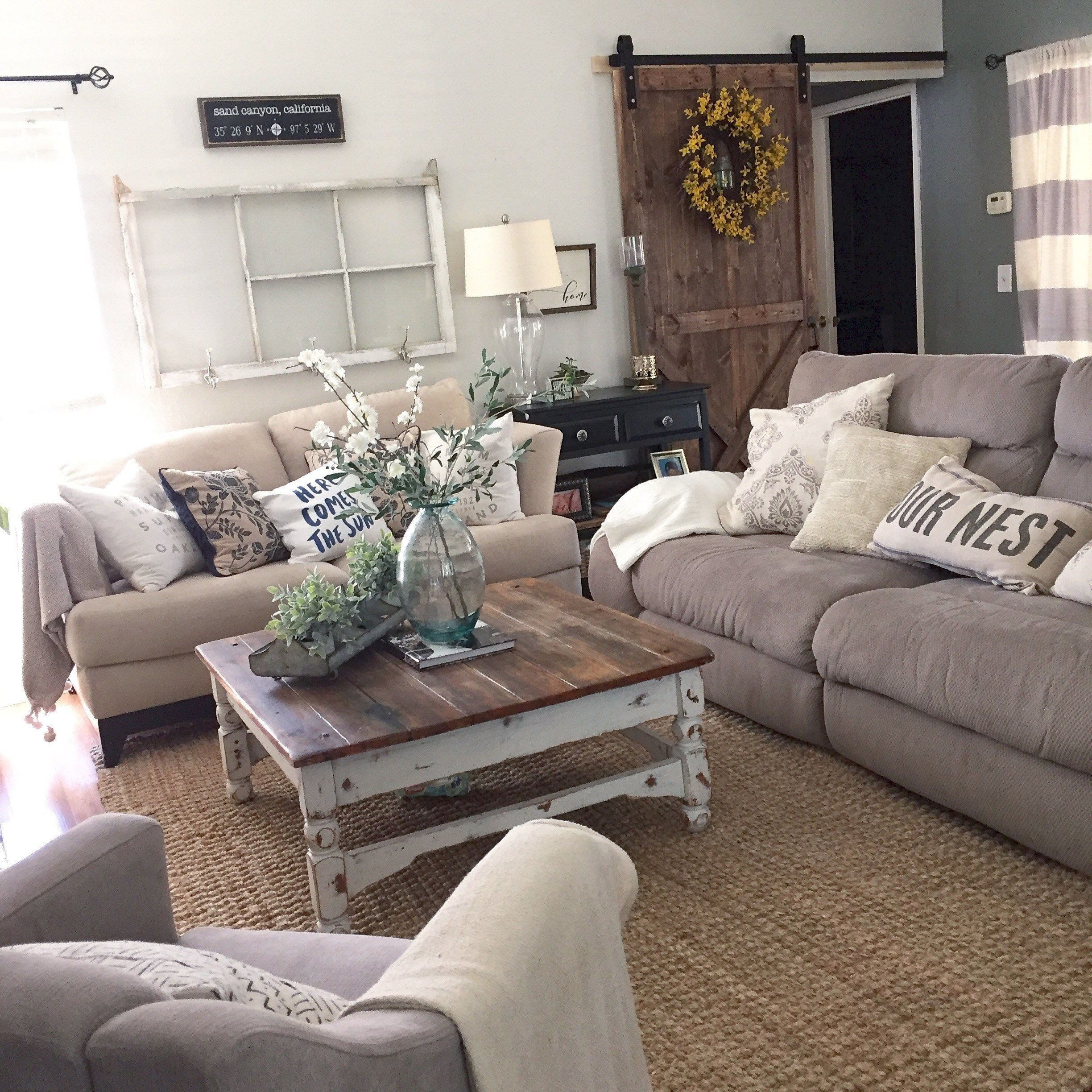 Country themed Living Room Decor top 11 Incredible Cozy and Rustic Chic Living Room for