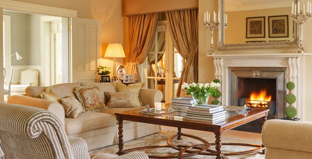 Country Traditional Living Room Country House Ireland Traditional Living Room
