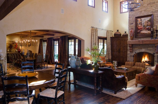 Country Traditional Living Room Texas Hill Country Style Traditional Living Room