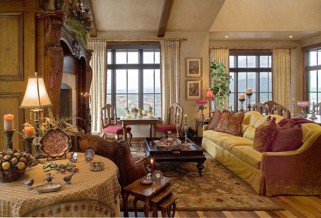 Country Traditional Living Room the Wilborough Helpers association [ooc] [potterverse