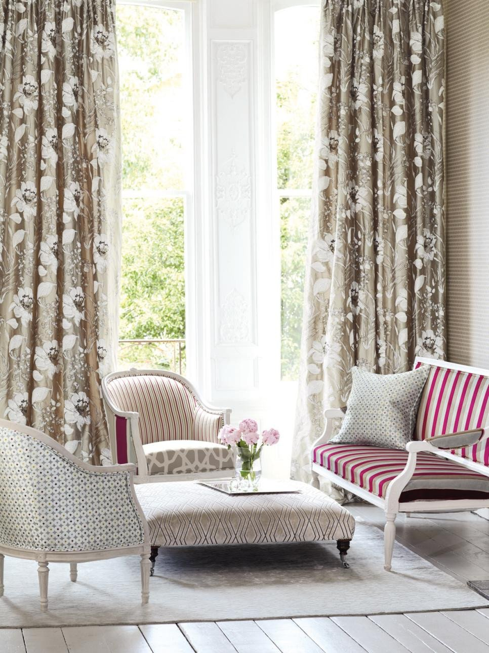 Curtain Ideasfor Living Room Living Room Window Treatments