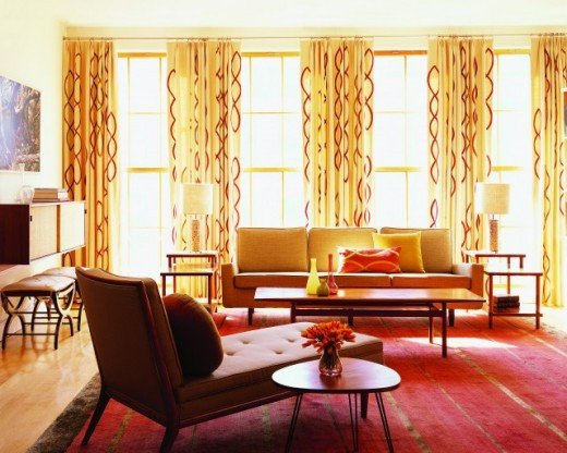 Curtain Ideasfor Living Room Modern Furniture Modern Living Room Curtains Design Ideas