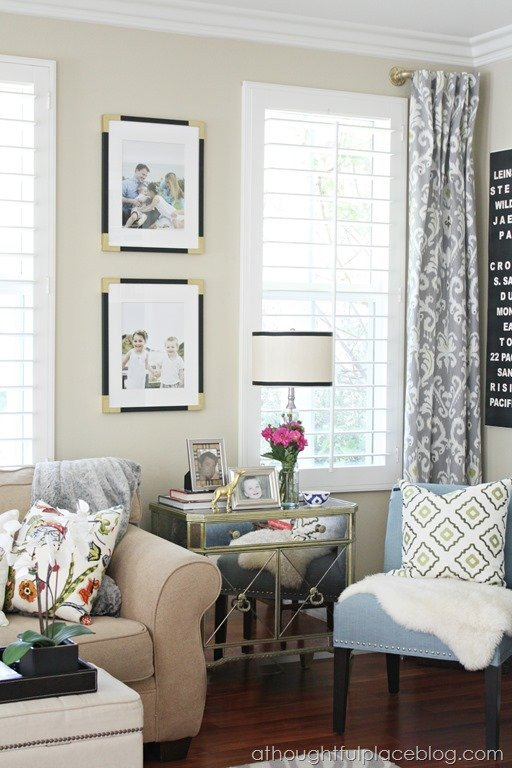 Curtains for Living Room Ideas Living Room Update Semi Custom Drapes A thoughtful Place