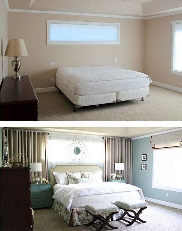 Curtains for Small Bedroom Windows Creative Ways to Make Your Small Bedroom Look Bigger