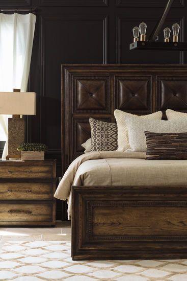 """Dark Wood Bedroom Furniture 29 5"""" Casual Three Drawer Nightstand In Dark Wood"""