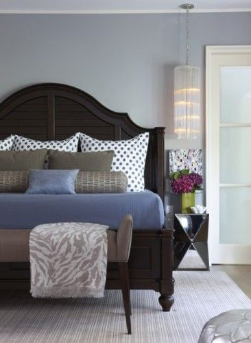 Dark Wood Bedroom Furniture Decor Bed Pillow Arrangements What S Your Number