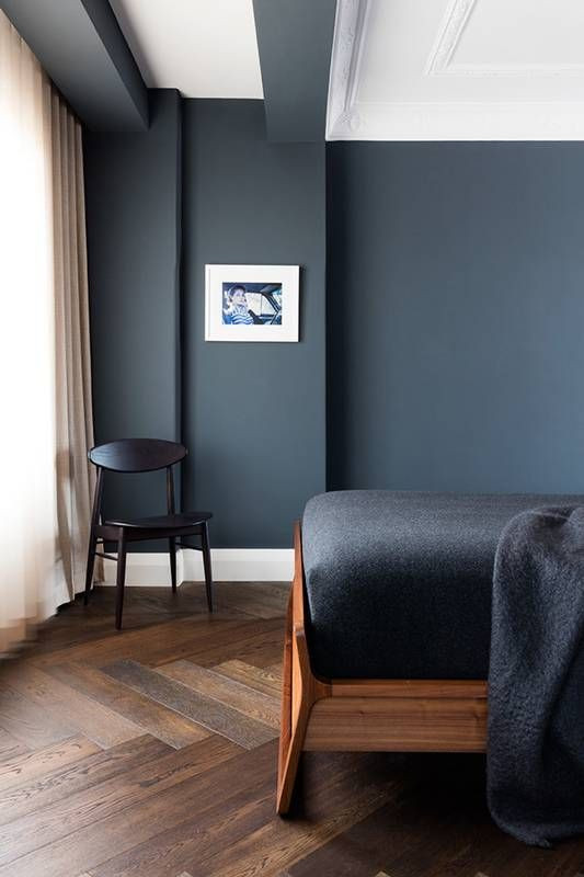 Dark Wood Bedroom Furniture Decor Dark Blue and Dark Wood Rooms You Ll Love