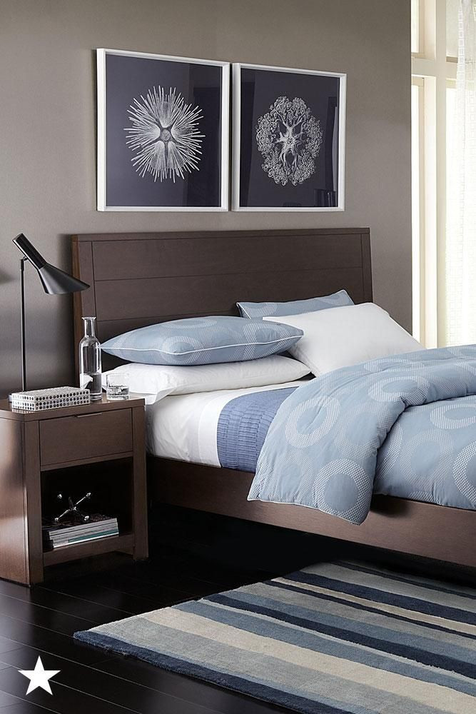 Dark Wood Bedroom Furniture Decor the Minimalist Design Of This Bed Frame is A Great Choice