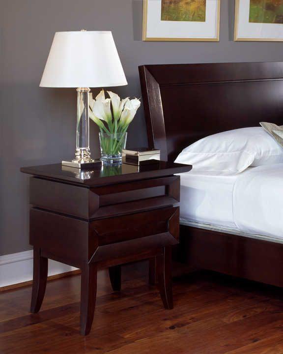 Dark Wood Bedroom Furniture Ffh Nightstand Cherry Wood Bedroom Furniture