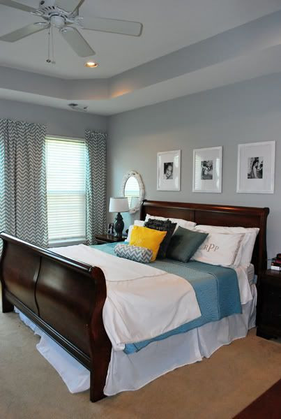 Dark Wood Bedroom Furniture Stonington Gray Walls Own Bed White Frames White