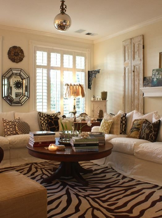 Decor for Living Room Tables Decorating A Round Coffee Table • Kelly Bernier Designs