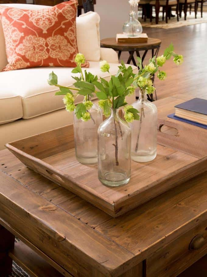 Decor for Living Room Tables Fixer Upper Spaces and Vignettes