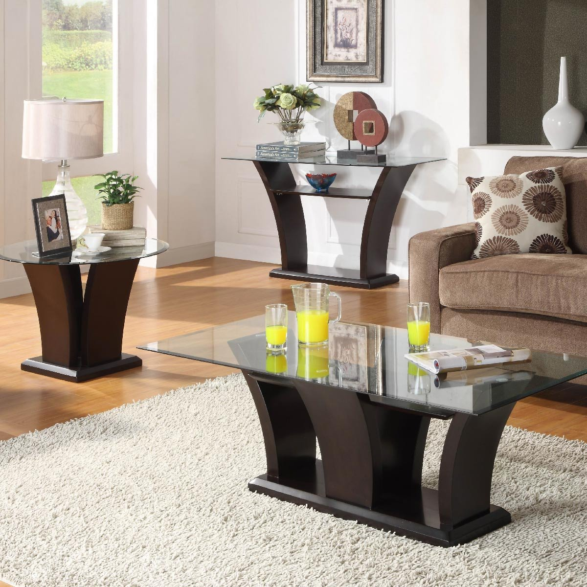Decor for Living Room Tables Glass sofa Table for A Great Living Room Decor Ideas