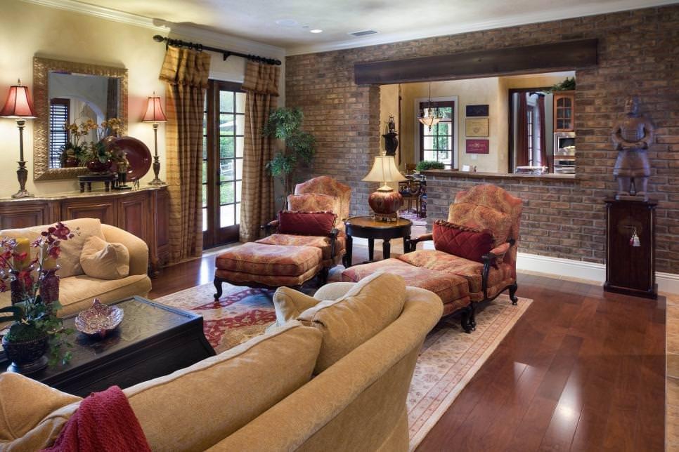 Decor for Living Room Wall 25 Brick Wall Designs Decor Ideas for Living Room
