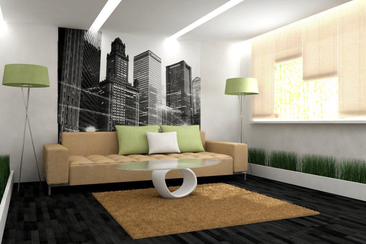 Decor for Living Room Wall Оформление стен гостиной комнаты