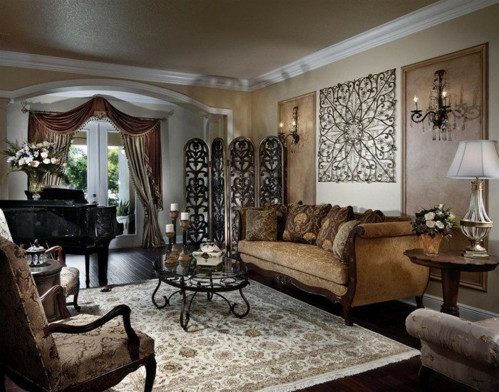 Decor for Living Room Wall La Décoration Murale En Métal touches D élégance Pour L