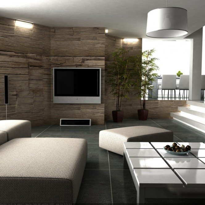 Decor for Living Room Wall Stylish Grey Interior Design with Colorful Moody Spooky