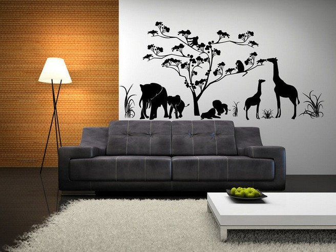 Decor for Living Room Wall Wall Decorations for Living Room with Metal Wall Art
