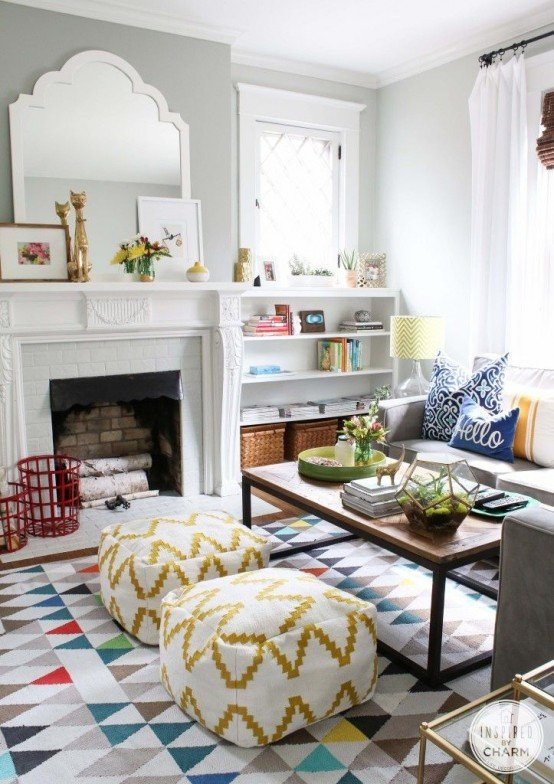 Decor for Small Living Room 33 Cheerful Summer Living Room Décor Ideas Digsdigs