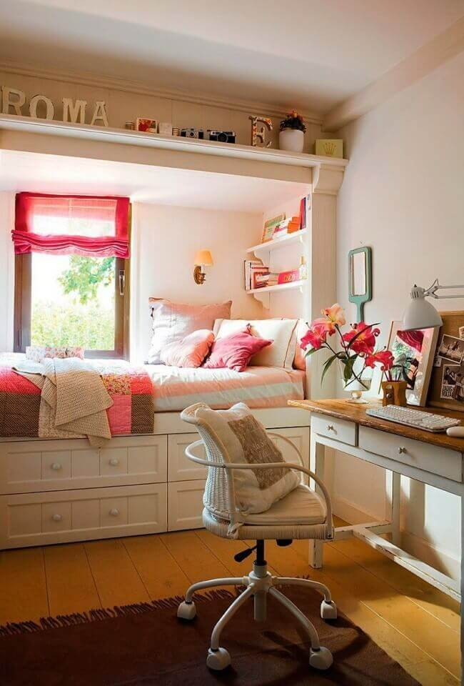 Decor for Teenage Girl Bedroom ✔️ 34 Cool and Simple Teen Girl Bedroom Ideas for Small Rooms