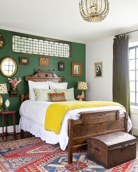 bedroom wall decor ideas accent wall with mirrors