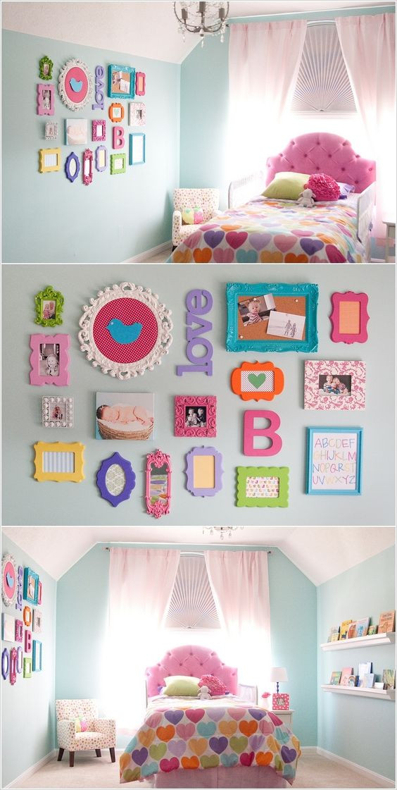 Decor Ideas for Girl Bedroom 20 Awesome Diy Projects to Decorate A Girl S Bedroom Hative