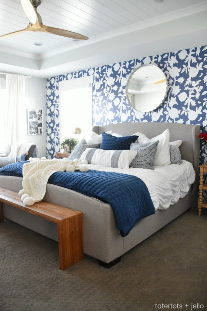 Decor Ideas for Master Bedroom Beautiful Blue Bedroom Decor Ideas