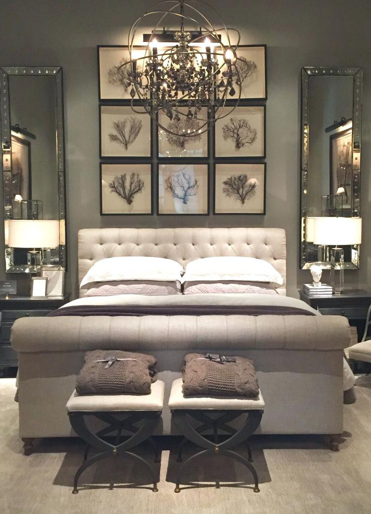 Decor Ideas for Master Bedroom Master Bedroom Decor Pinterest Restoration Hardware Part E