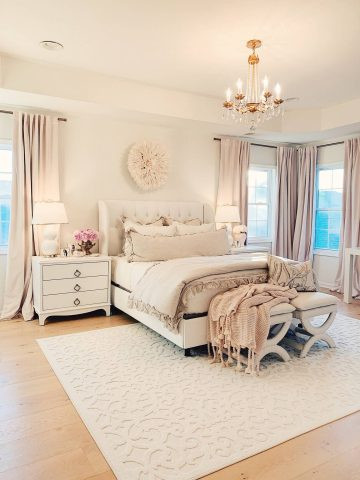 Decor Ideas for Master Bedrooms Master Bedroom Decor A Cozy & Romantic Master Bedroom the