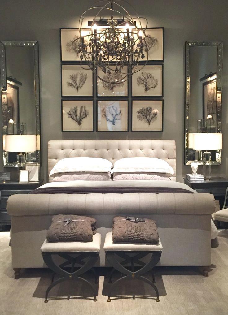Decor Ideas for Master Bedrooms Master Bedroom Decor Pinterest Restoration Hardware Part E
