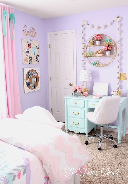 Diy Bedroom Decor for Teens Sami Says Ag & the Fancy Shack Girls Pastel Bedroom Room