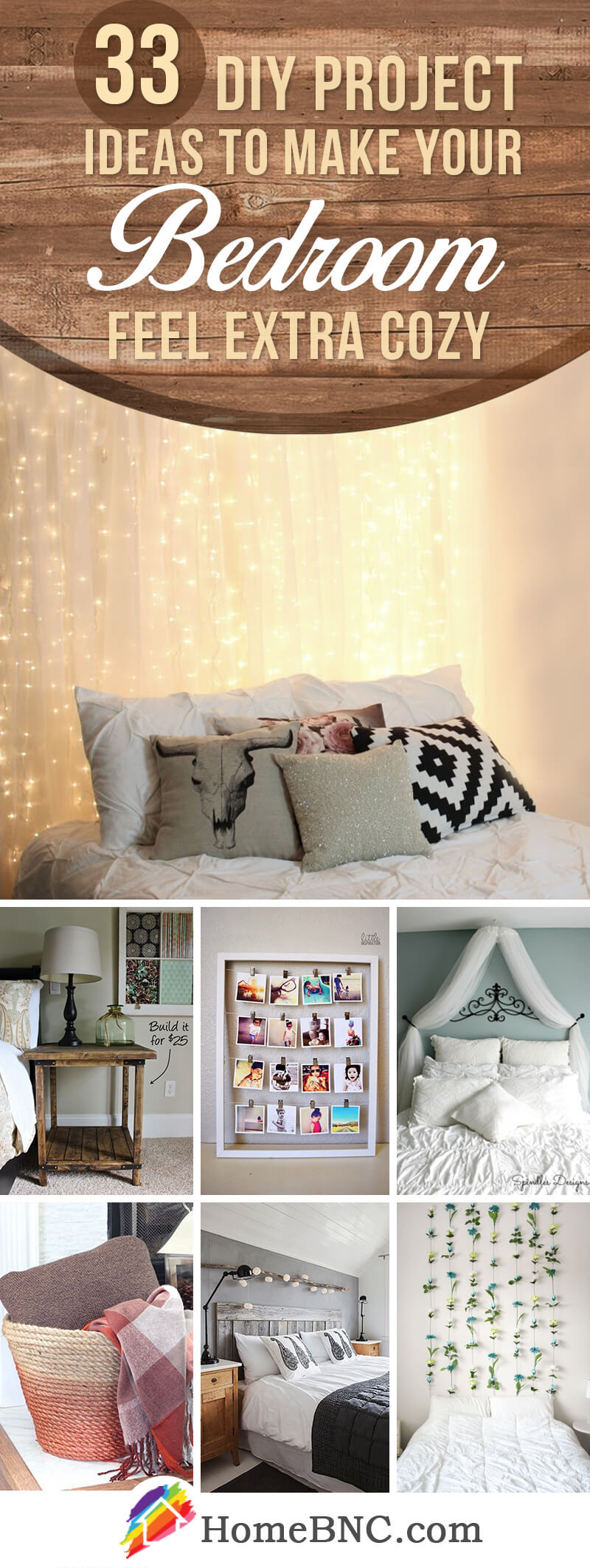Diy Bedroom Decor It Yourself 33 Best Diy Cozy Bedroom Project Ideas and Designs for 2020