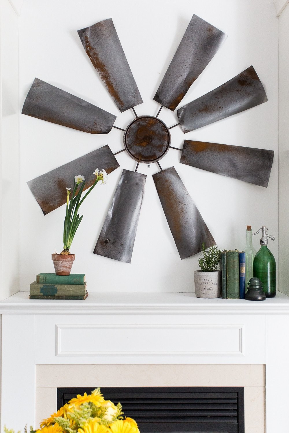 Diy Living Room Wall Decor Fixer Upper Decor Diy Windmill