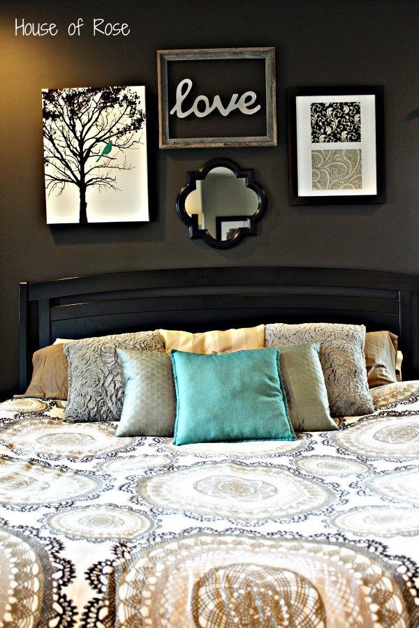 Diy Master Bedroom Decor Ideas Master Bedroom Wall Makeover