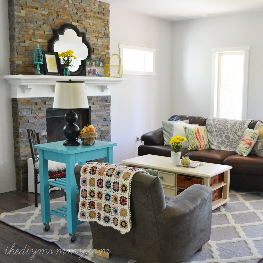 """Diy Rustic Living Room Decor Our """"rustic Glam Farmhouse"""" Living Room Our Diy House"""