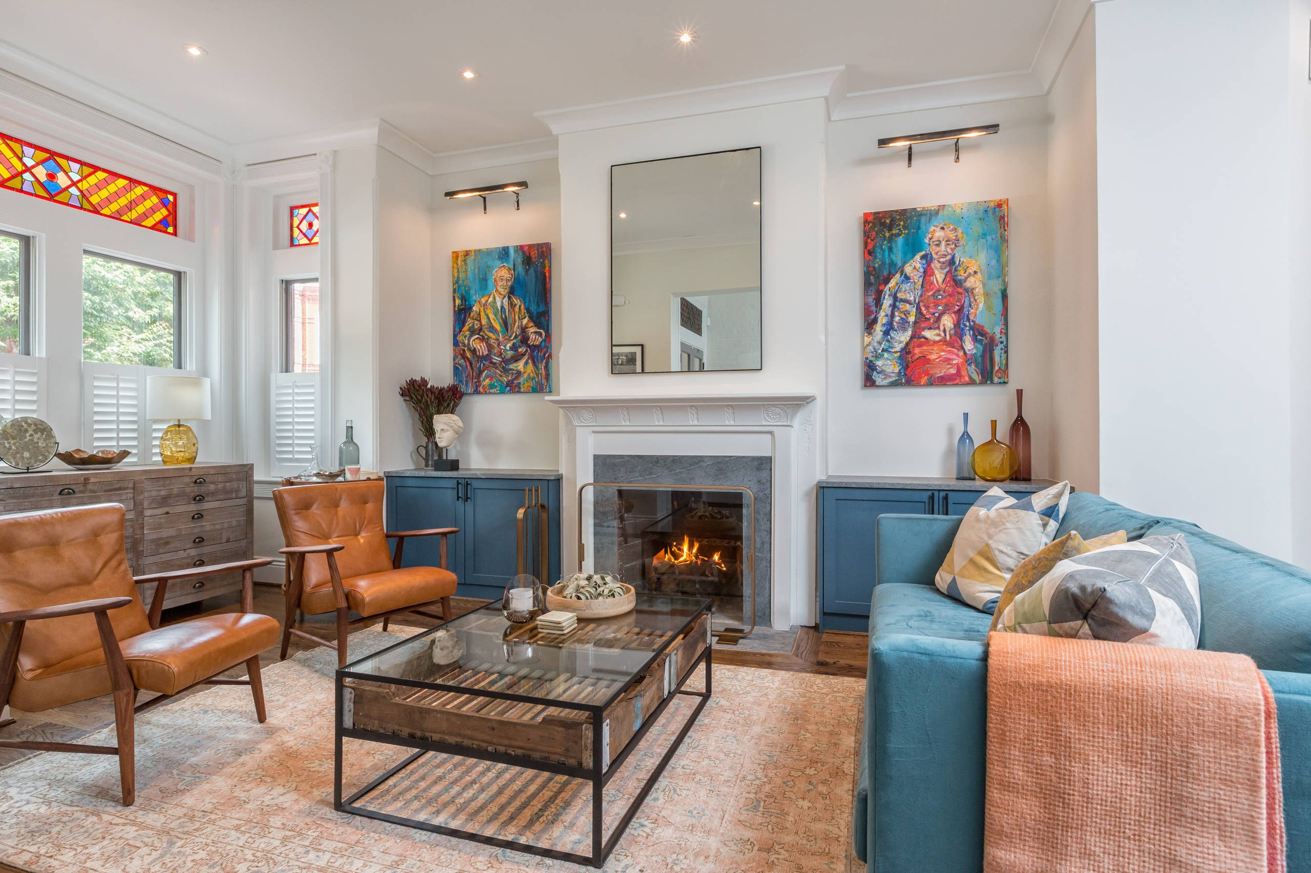 Eclectic Comfortable Living Room 17 Fy Eclectic Living Room Designs that are All About