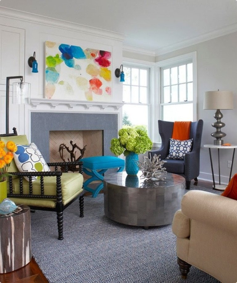 Eclectic Comfortable Living Room 25 Eclectic Living Room Design Ideas Decoration Love