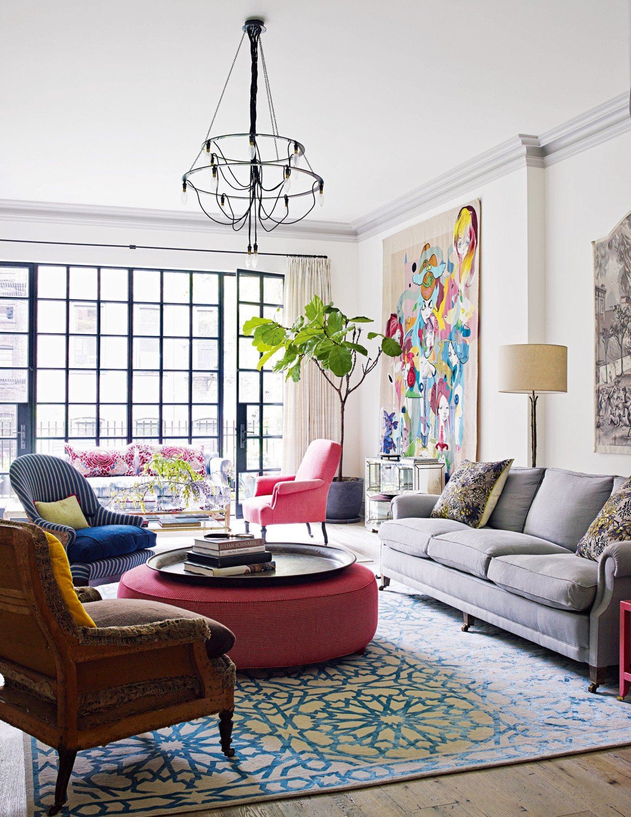 Eclectic Comfortable Living Room Eccentric Living Room Designs that Feature Richness with