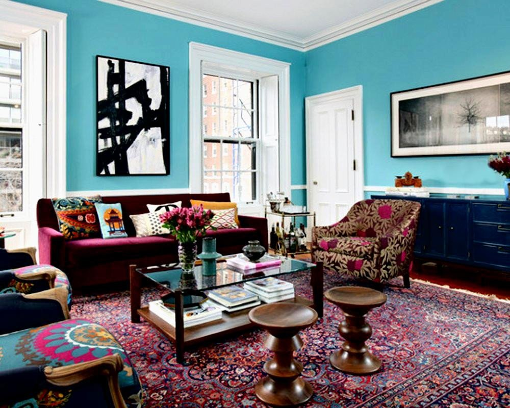 Eclectic Comfortable Living Room Eclectic Living Room Design Ideas for Captivating