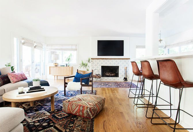 Eclectic Comfortable Living Room Find the Most fortable Bar Chair for Your Living Room