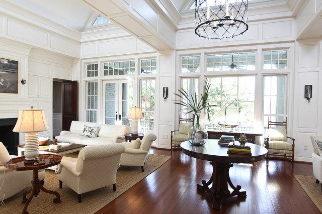 fortable Luxury eclectic living room charleston