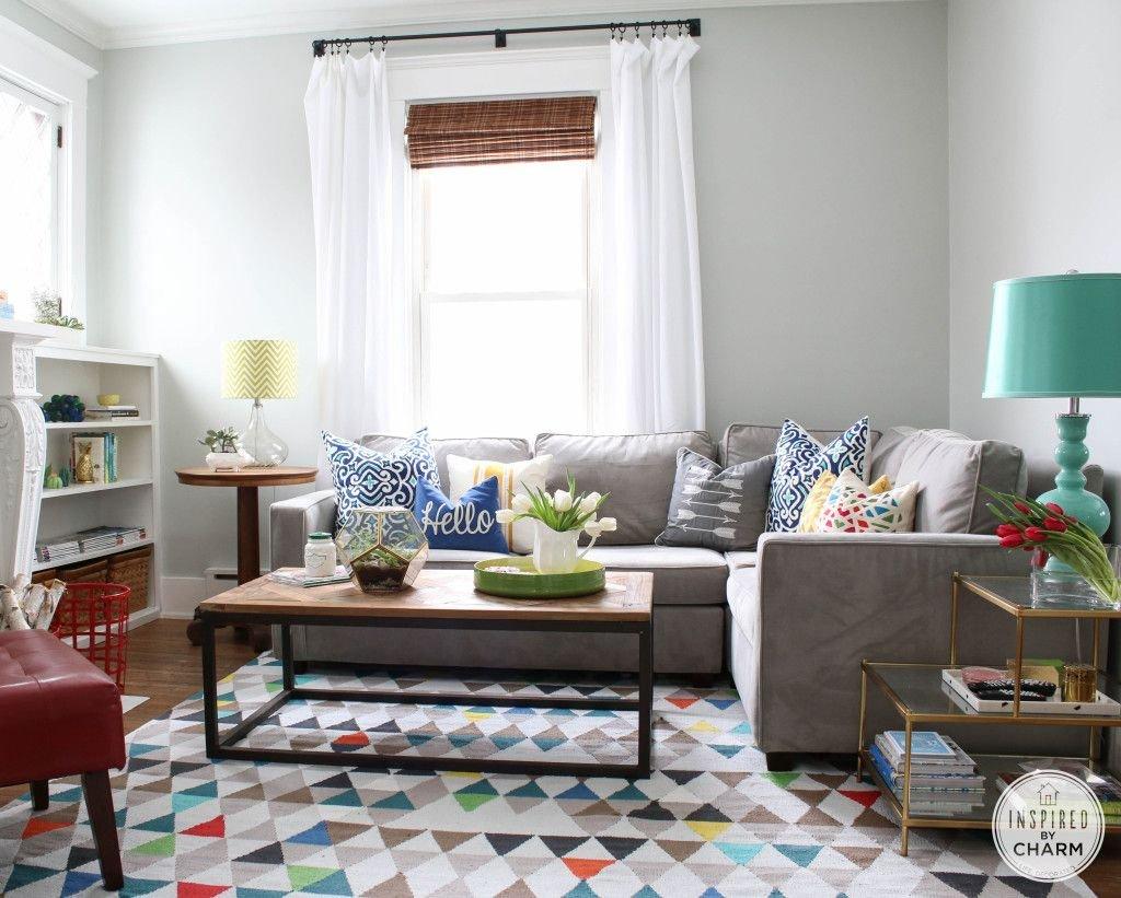 Eclectic Comfortable Living Room Michael Wurm S Colorful Modern fortable Living Room