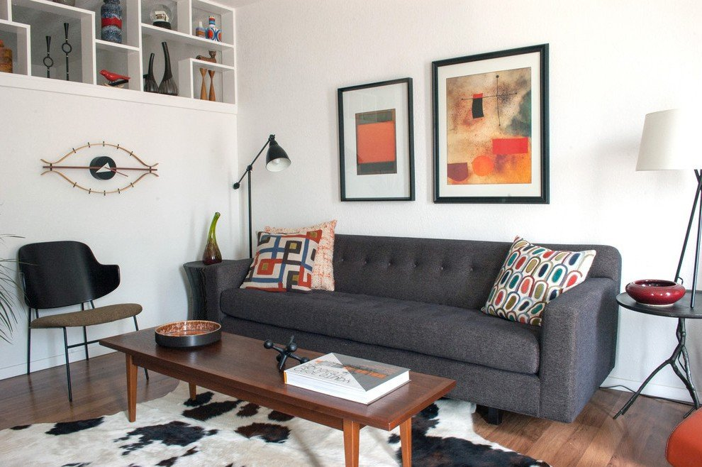 Eclectic Comfortable Living Room Most fortable sofa Living Room Eclectic with
