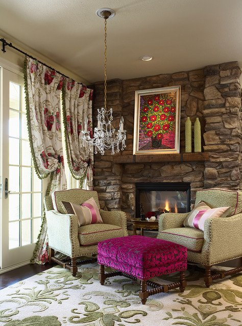 Eclectic Comfortable Living Room Sitting area Eclectic Living Room Minneapolis by