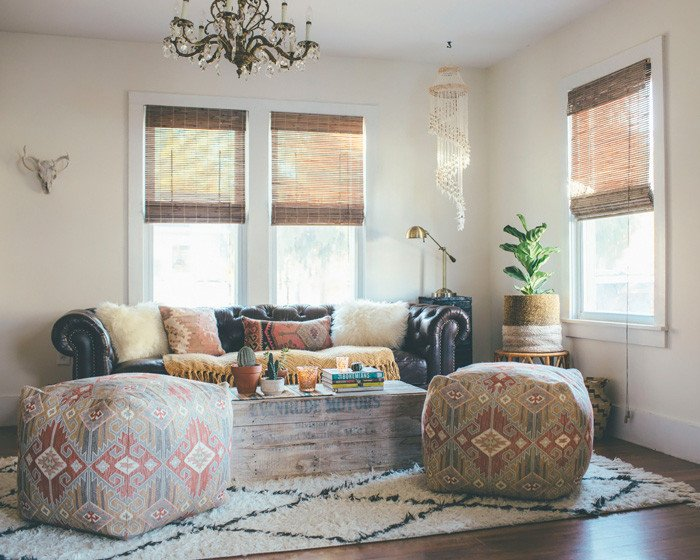 Eclectic Comfortable Living Room Sundays at Home Week 83 Link Party and Features