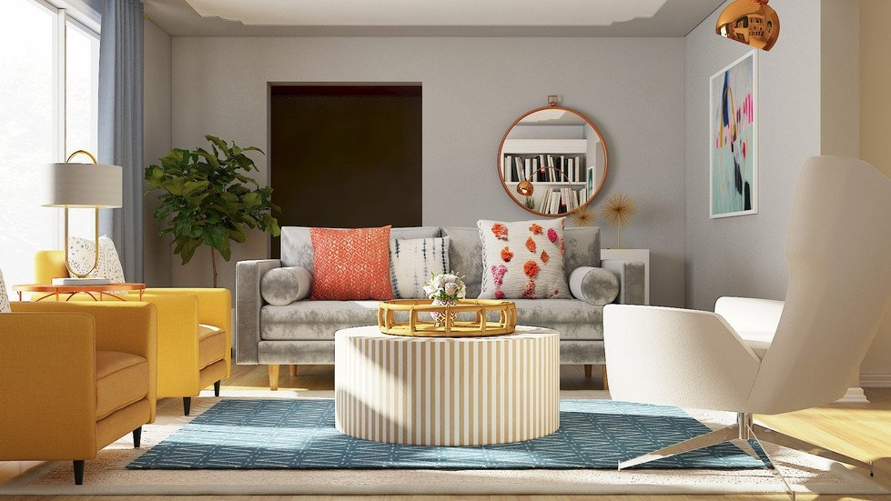 Eclectic Comfortable Living Room top 20 Rooms Of Fall Part 1