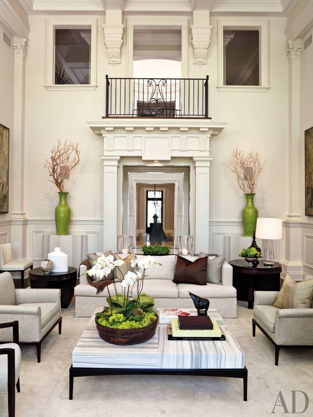 Elegant Contemporary Living Room Elegant Contemporary Living Room 19 Decoratoo