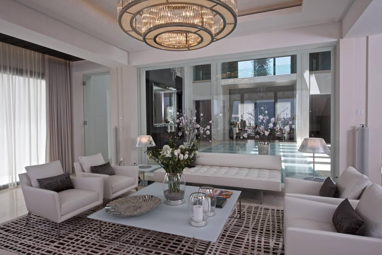 Elegant Contemporary Living Room Gallery